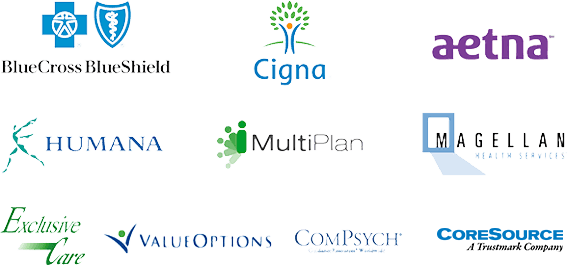 Health insurance providers The Oaks accepts insurance from. Blue Cross Blue Sheild, Cigna, Aetna, Humana, MultiPlan, ValueOptions, and more.