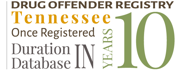 Drug Offender Registry Tennessee