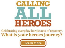 23 million people need treatment for addiction. Only 3 million seek it. Share your story to encourage others to get the help they need! Heroes in Recovery.
