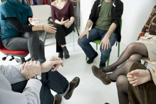 Group talk therapy