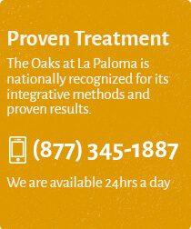 The Oaks at La Paloma is nationally recognized for its integrative methods and proven results. We can help and customize the right plan for your or your loved one. (877) 345-1887