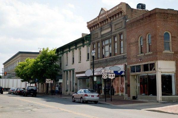 Appalachian town