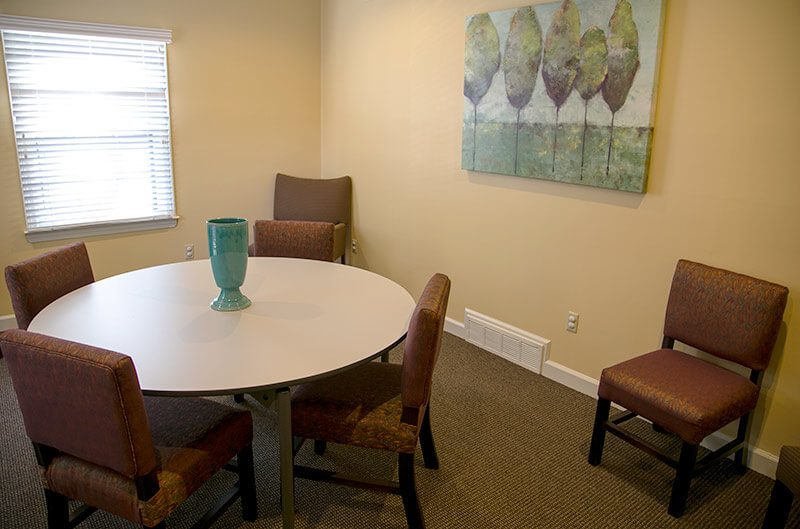 La Paloma Outpatient meeting area