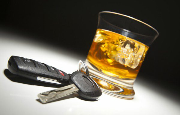 Liquor and car keys